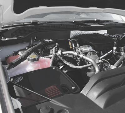 S&B Products - Cold Air Intake For 11-16 Chevrolet Silverado GMC Sierra V8-6.6L LML Duramax Dry Extendable White S&B - Image 3