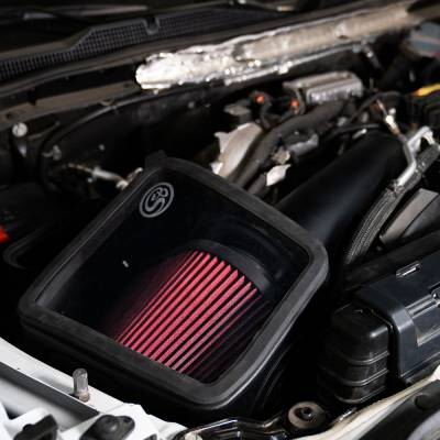 S&B Products - Cold Air Intake For 2020 Chevrolet Silverado GMC Sierra V8-6.6L L5P Duramax Cotton Cleanable S&B - Image 6