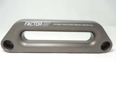 Winches and Accessories - Winch & Winching Accessories - Factory 55 - Hawse Offset Fairlead 1.5 Inch Thick Factor 55