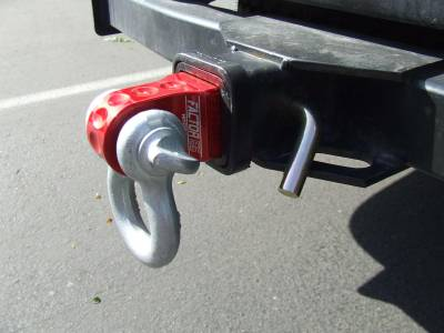Factory 55 - HitchLink 2.5 Reciever Shackle Mount 2.5 Inch Receivers Anodized Gray Factor 55 - Image 2