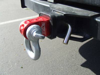 Factory 55 - HitchLink 2.0 Reciever Shackle Mount 2 Inch Receivers Silver Factor 55 - Image 2