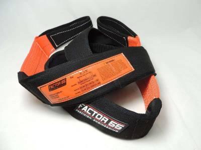 Factory 55 - Tree Saver Strap 8 Foot 3 Inch Black/Orange Factor 55 - Image 2
