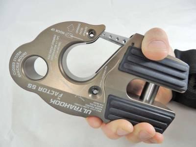 Factory 55 - UltraHook Winch Hook W/Shackle Mount Gray Factor 55 - Image 6