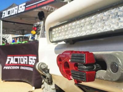 Factory 55 - UltraHook Winch Hook W/Shackle Mount Red Factor 55 - Image 3