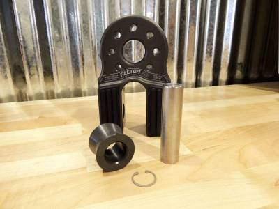 Factory 55 - FlatLink XXL Winch Shackle Mount Assembly Anodized Gray Factor 55 - Image 4