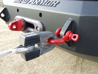 Factory 55 - FlatLink E Expert Version Winch Shackle Mount Assembly Anodized Gray Factor 55 - Image 2