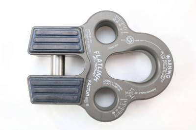 Winch Line Shackle Mount Foldable Flatlink Multimount Gray Factor 55