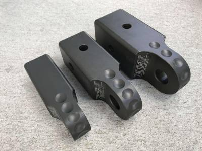 Factory 55 - HitchLink 3.0 Reciever Shackle Mount 3 Inch Receivers Anodized Gray Factor 55 - Image 7