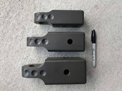 Factory 55 - HitchLink 3.0 Reciever Shackle Mount 3 Inch Receivers Anodized Gray Factor 55 - Image 8