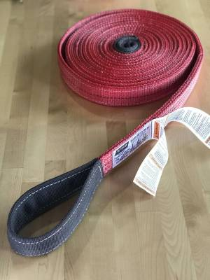 Factory 55 - 30 Foot Tow Strap Standard Duty 30 Foot x 2 Inch Red Factor 55 - Image 6