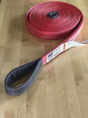 Factory 55 - 30 Foot Tow Strap Standard Duty 30 Foot x 2 Inch Red Factor 55 - Image 7