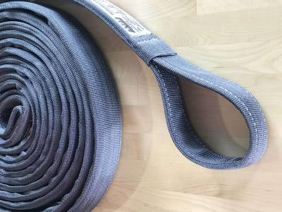 Factory 55 - 30 Foot Tow Strap Extreme Duty 30 Foot x 2 Inch Gray Factor 55 - Image 2