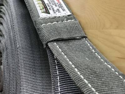 Factory 55 - 30 Foot Tow Strap Extreme Duty 30 Foot x 2 Inch Gray Factor 55 - Image 3