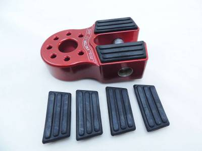 Winches and Accessories - Winch & Winching Accessories - Factory 55 - FlatLink Rubber Guard Set of 4 Factor 55