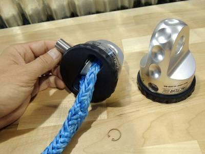 Factory 55 - Synthetic Rope Spool 0.438 Pin Diameter ProLink XTV,UltraHook XTV, FlatLink XTV Factor 55 - Image 3