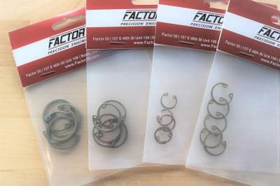 Factory 55 - ProLink XTV, UltraHook XTV and FlatLink XTV Internal Snap Ring Set of 5 Factor 55 - Image 2