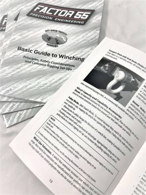 Factory 55 - Basic Guide To Winching Manual Factor 55 - Image 3