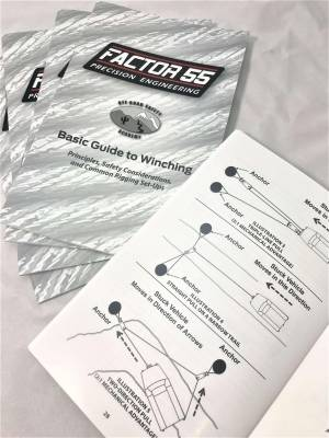 Factory 55 - Basic Guide To Winching Manual Factor 55 - Image 4
