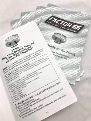 Factory 55 - Basic Guide To Winching Manual Factor 55 - Image 5