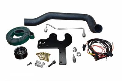 Diesel Injection and Delivery - Fuel Injection Pump - Fleece Performance - 5.9L Dual Pump Hardware Kit for 03-07 Ram 2500/3500 Cummins Fleece Performance