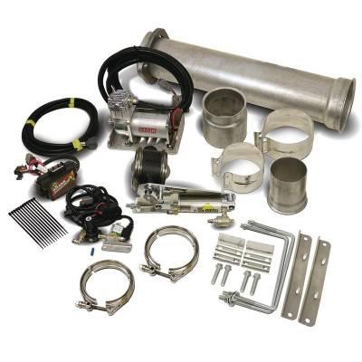 Exhaust - Exhaust Brake - 11-16 Ford 6.7L Powerstroke Exhaust Brake (Remote) C/W Air Compressor